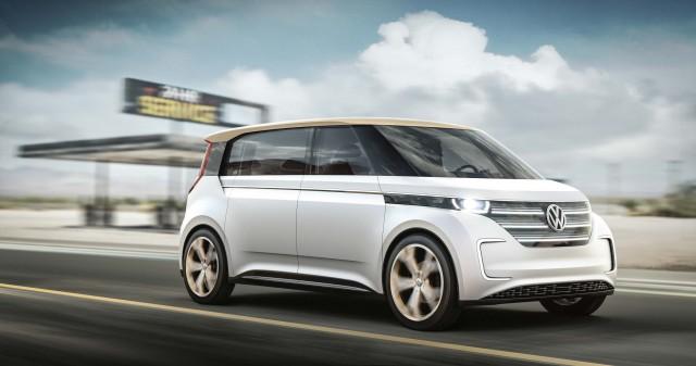 Volkswagen Budd-e concept - front