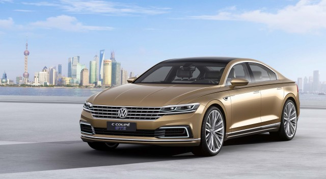 Volkswagen C Coupe GTE Concept - front
