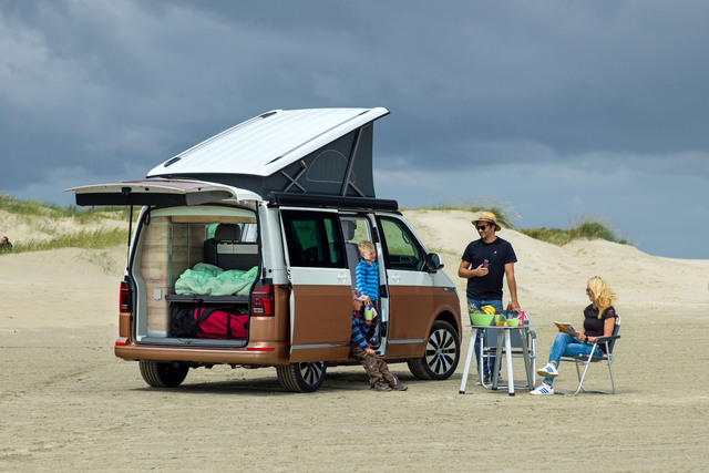 2020 Volkswagen California facelift
