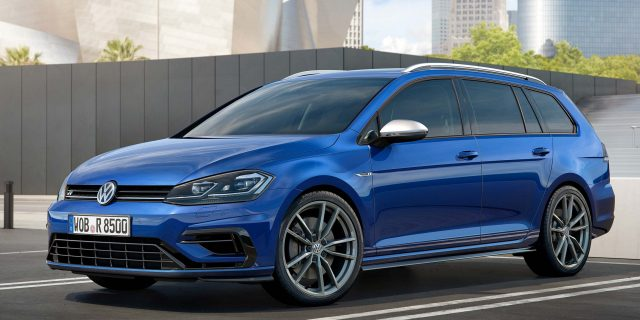 2017 Volkswagen Golf R facelift - wagon, front