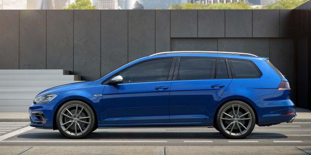 2017 Volkswagen Golf R facelift2017 Volkswagen Golf R facelift - wagon, side