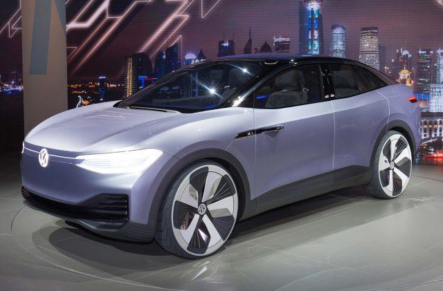 Volkswagen ID Crozz concept - front, reveal