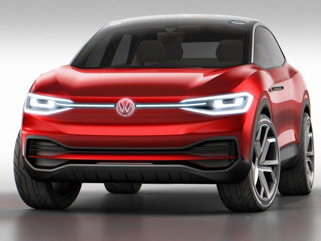 2017 Volkswagen ID Crozz II Concept - front, red