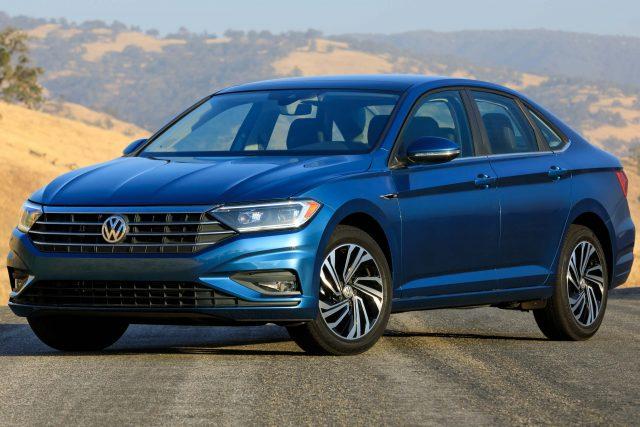 2019 Volkswagen Jetta - front, blue