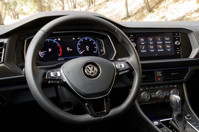 2019 Volkswagen Jetta - steering wheel, digital cockpit