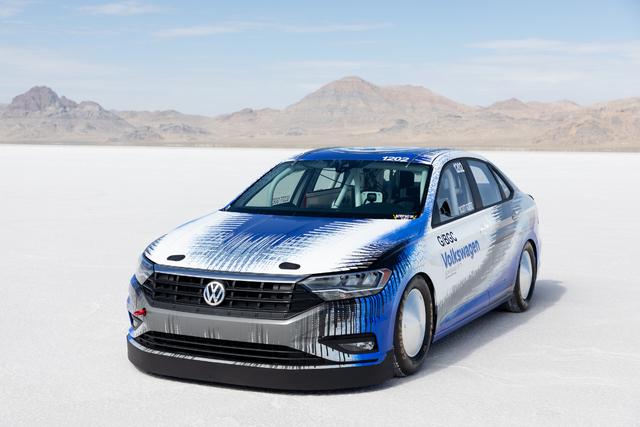 Volkswagen Jetta Bonneville Land Speed Record Car