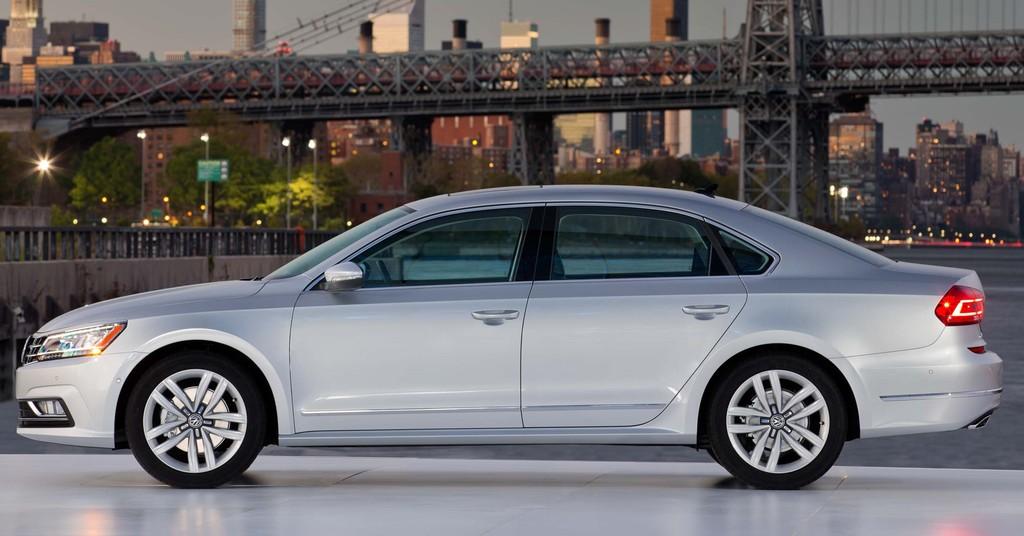 B7 NMS Volkswagen Passat facelift
