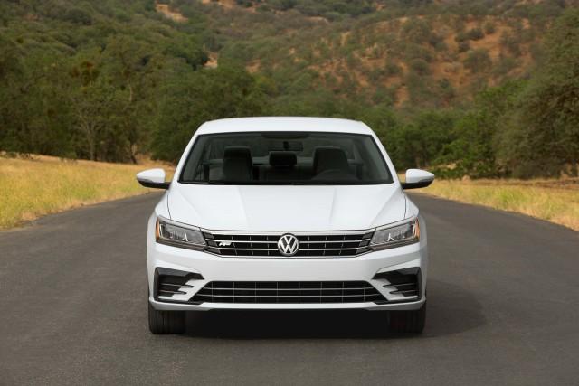 B7 NMS Volkswagen Passat R-Line facelift - nose