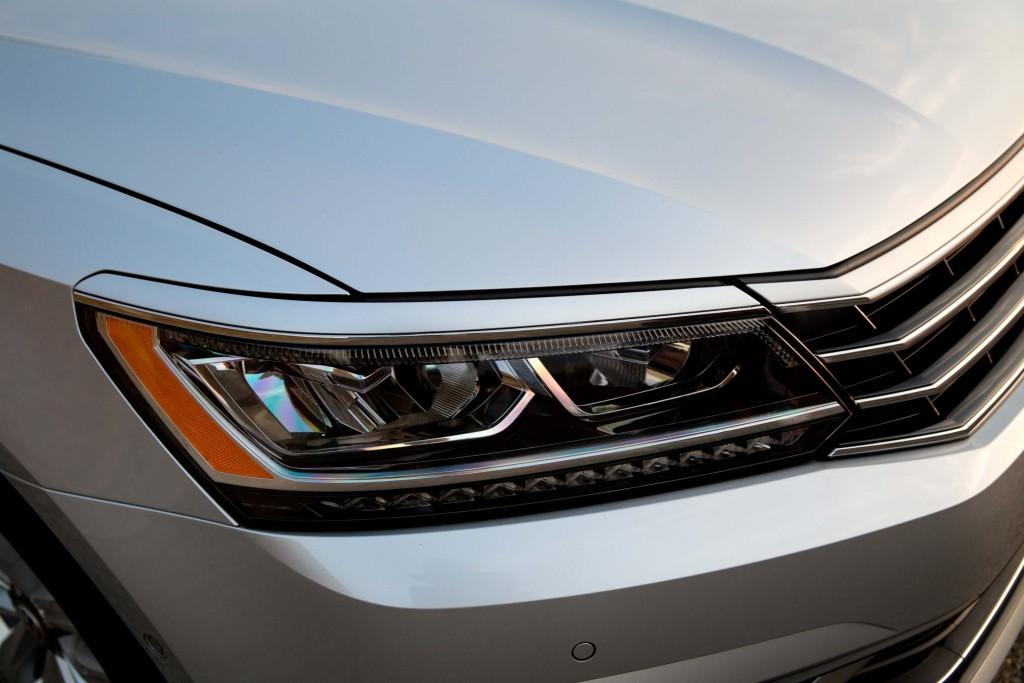 B7 NMS Volkswagen Passat facelift - headlights