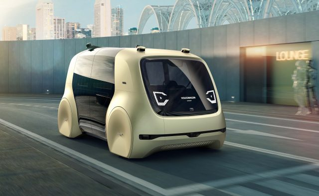 Volkswagen Sedric concept - front