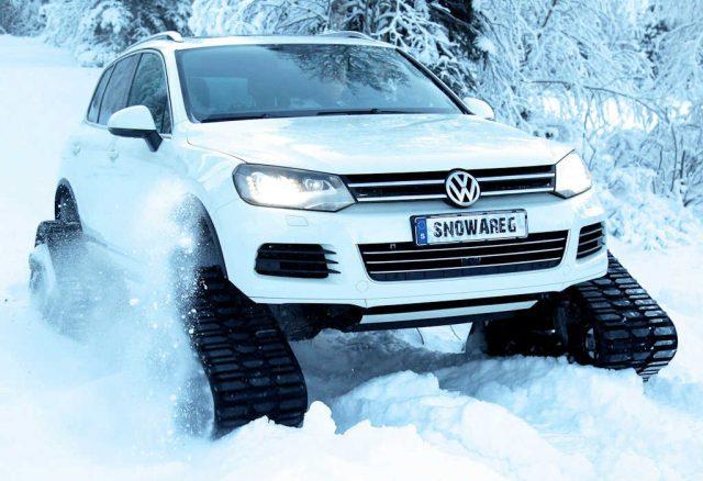 Volkswagen Snowareg - front