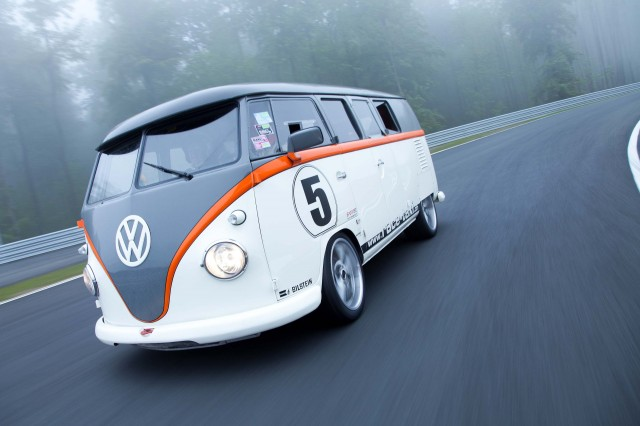Volkswagen T1 Race Taxi - on the Nurburgring Nordschleife