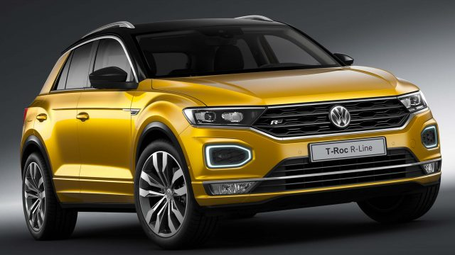 volkswagen t roc r line 2017 first generation photos between the axles. Black Bedroom Furniture Sets. Home Design Ideas