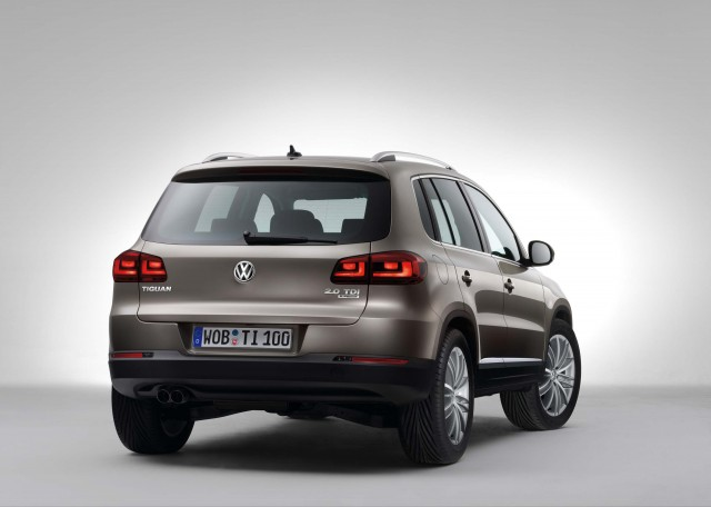 2011 5N Volkswagen Tiguan facelift - Sport rear