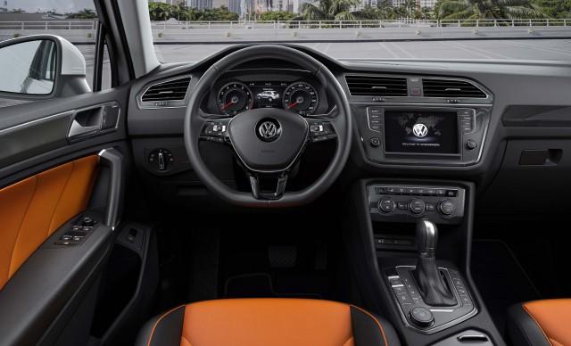 Volkswagen Tiguan (Mark II) - dashboard