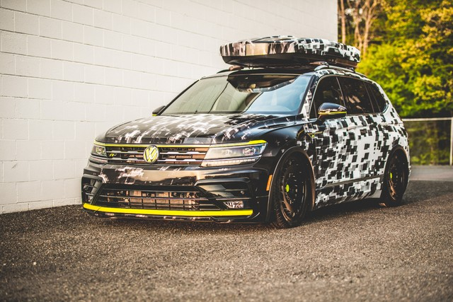 Volkswagen Tiguan R Line Aero Concept 2018 Second