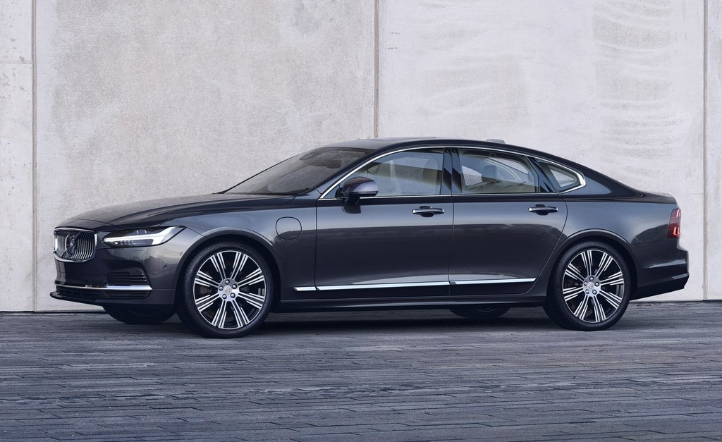 volvo s90 facelift (2021, second generation) photos
