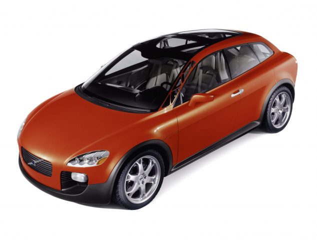 2001 Volvo Safety Car Concept - front, red
