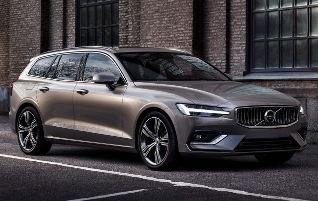 2018 Volvo V60 - front