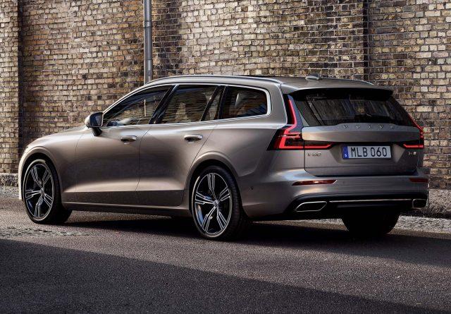 2018 Volvo V60 - rear