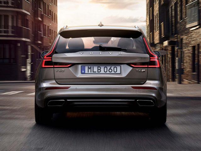2018 Volvo V60 - tailgate