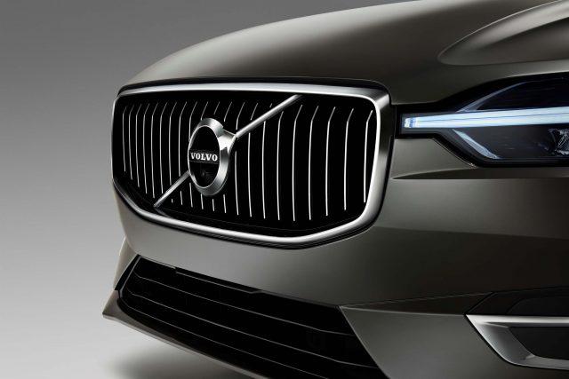 2018 Volvo XC60 - grille