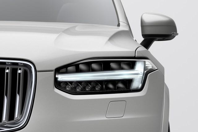 2020 Volvo XC90 T8 facelift