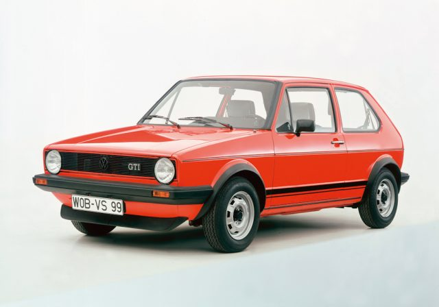 Mark I Volkswagen Golf  - front, red