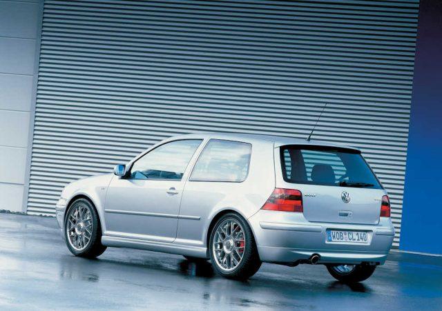 Volkswagen Golf Mark IV GTI - 3-door rear