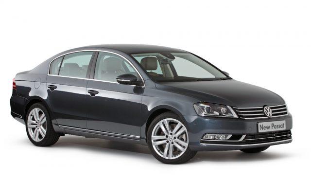 B7 Volkswagen Passat facelift - sedan, front